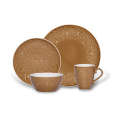 Latte 4 Piece Place Setting