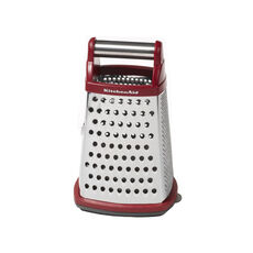 Gourmet Box Grater Red