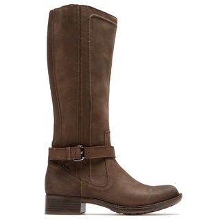 Christy Waterproof Tall Boot by Rockport in Brown