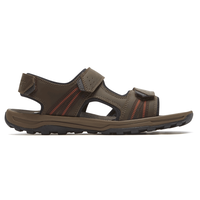 Trail Technique 3 Strap Sandal (Brown/Black)
