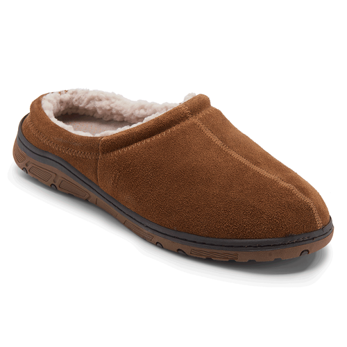 Men's Suede Clog Slippers