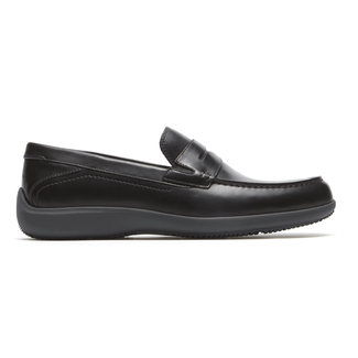 Aiden Penny Loafer  Comfortable Men's Shoes in Black
