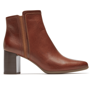 Total Motion Lynix Lay Bootie, SADDLE