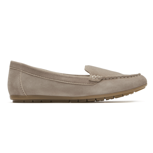 Demisa Ii Plain Moc Comfortable Women S Shoes In Grey