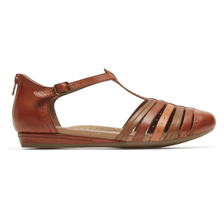 Cobb Hill Galway Strappy Toe in Brown