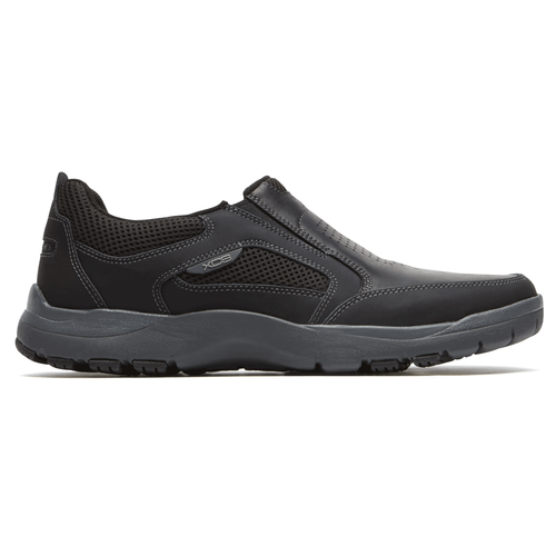 Kingston Slip-On Comfortable Men's Shoes in Black