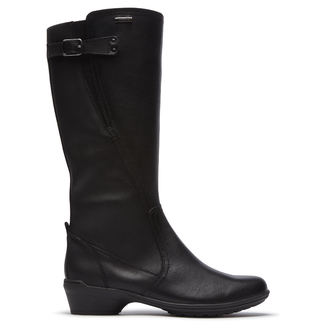 Rayna Waterproof Tall Boot Cobb Hill by Rockport in Black
