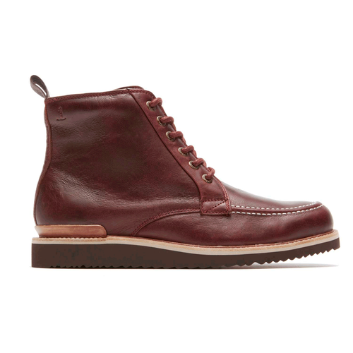 Eastern Empire Moc Toe Boot Men's Boots in Brown