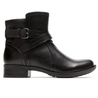 Caroline Waterproof Boot by Rockport in Black