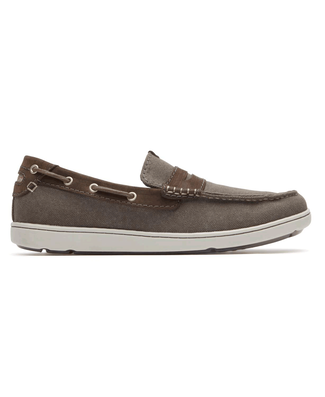 Gryffen Slip-On Comfortable Men's Shoes in Grey