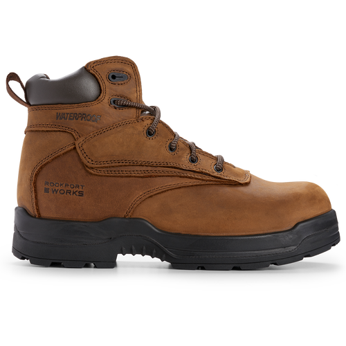 Rockport Works More Energy, BROWN NUBUCK