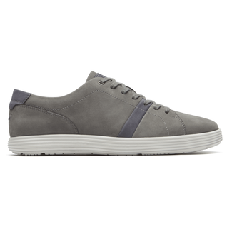 Thurston Lace-Up Comfortable Men's Shoes in Grey
