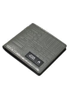 Showoff Leather Wallet SW, Milllennium Falcon Gunmetal