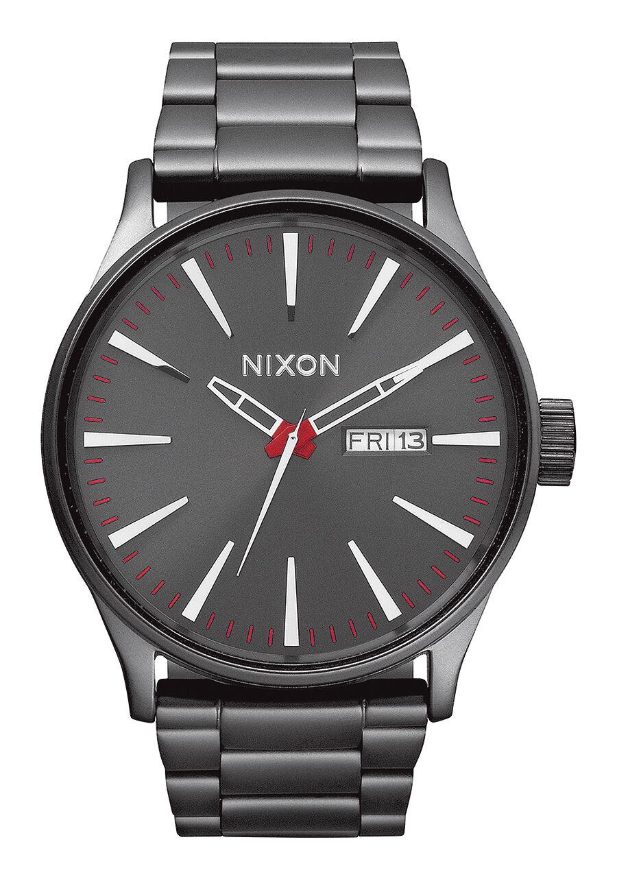 ss tradesy watches watch i nixon sentry black