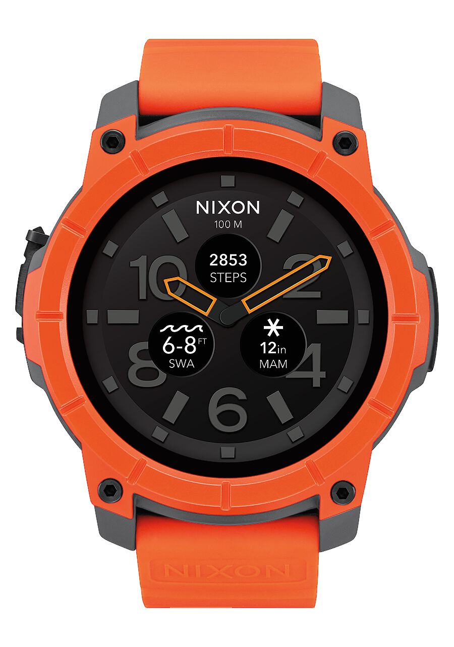 us orange mission men accessories gray and en nixon internet watches premium black s
