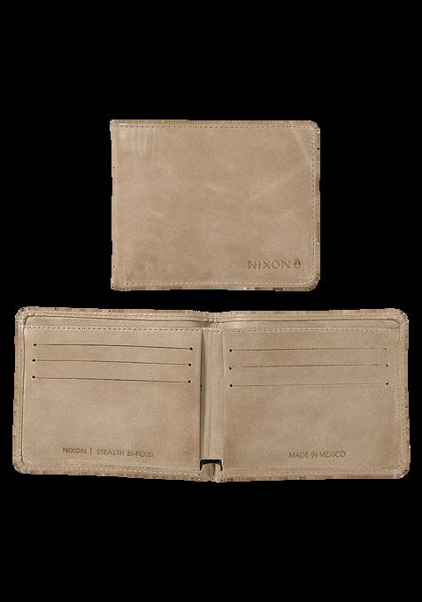 Stealth Slim Bi-Fold Wallet, Oyster