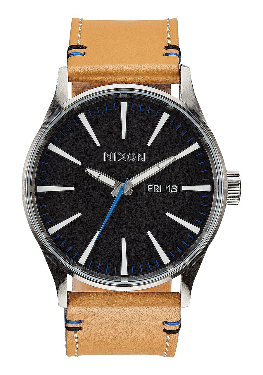 nixon watches leather sentry watch amazon dp s ca men