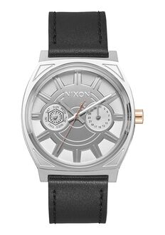 Time Teller Deluxe Leather SW, Phasma Black