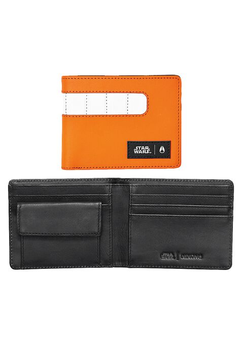 Showout Leather Wallet SW, Rebel Pilot Orange