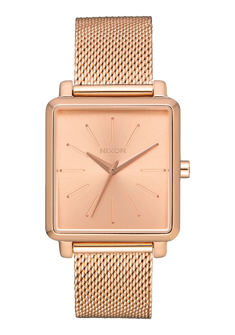 us women en nixon all premium and milanese s rose gold k squared watches