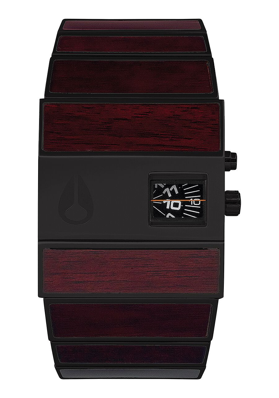 maroon strap image red orla watches leather ivy printed amp black kiely watch