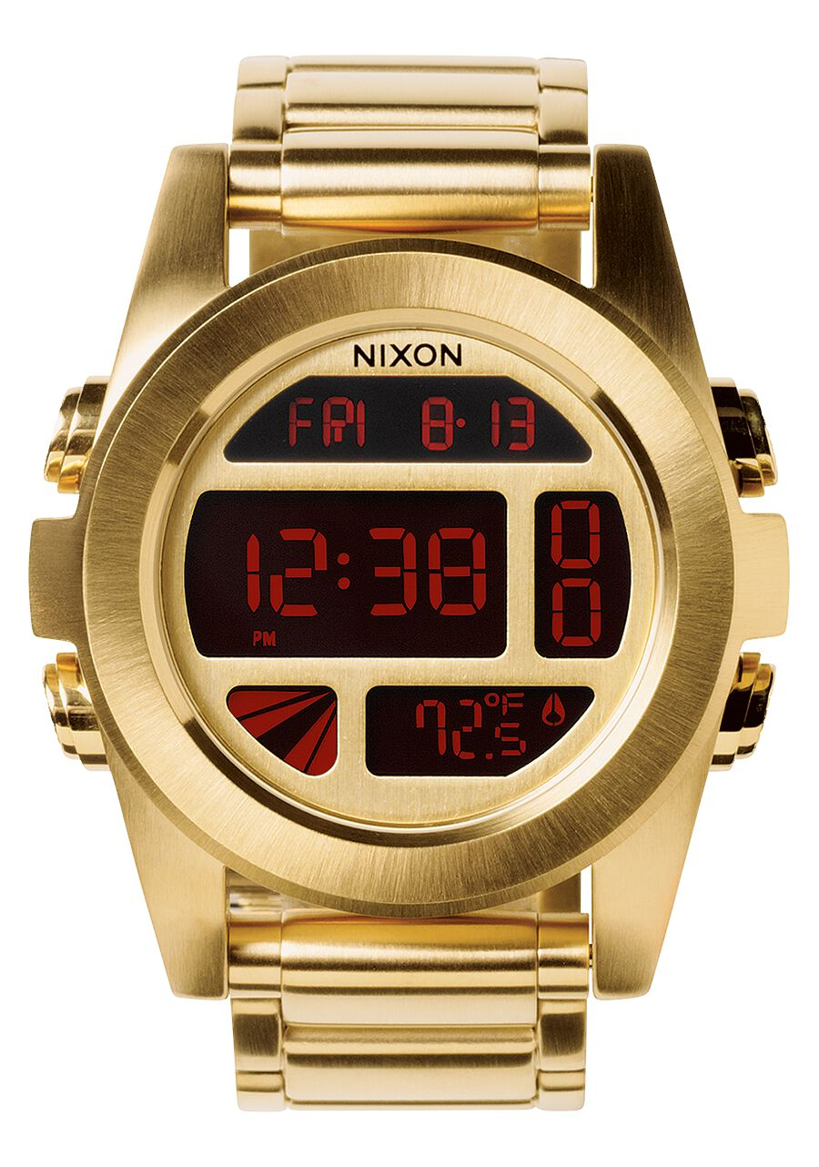 watch com nixon all watches mens men chrono dp gold s amazon