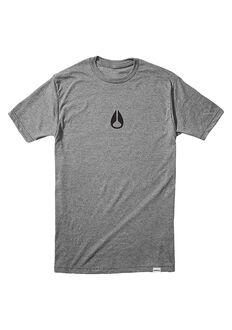 Tee-Shirt Wings II, Dark Heather Gray / Black