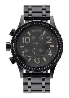 38-20 Chrono, All Black Crystal