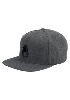 Simon Snap Back Hat, Dark Gray Heather