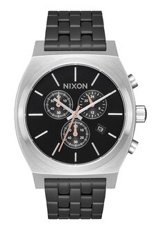 Time Teller Chrono, Black / Steel