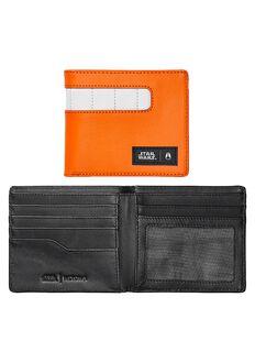 Showoff Leather Wallet SW, Rebel Pilot Orange