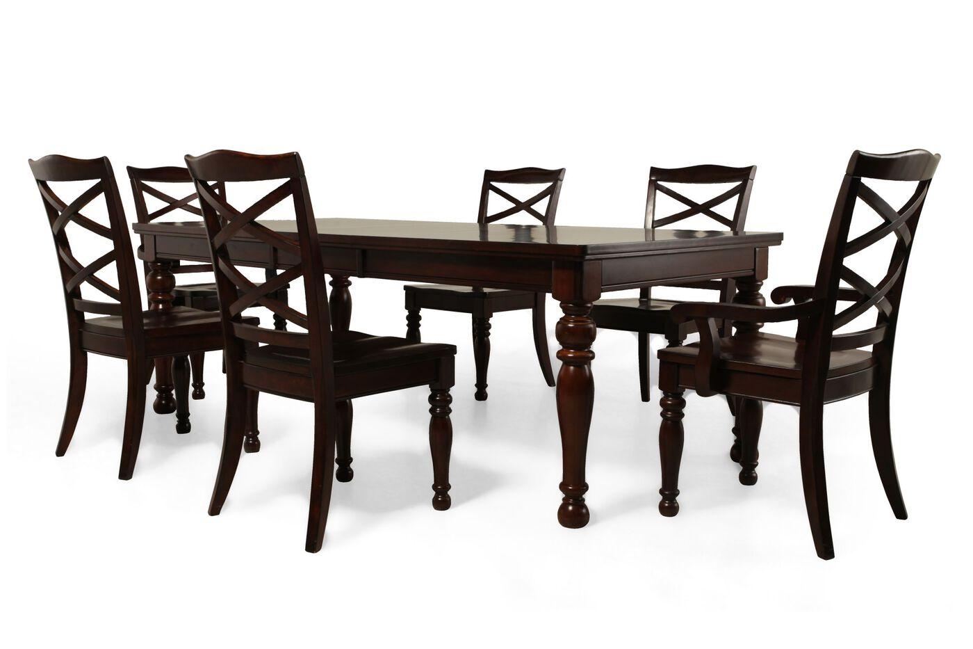 ashley porter seven piece dining set: seven piece dining set