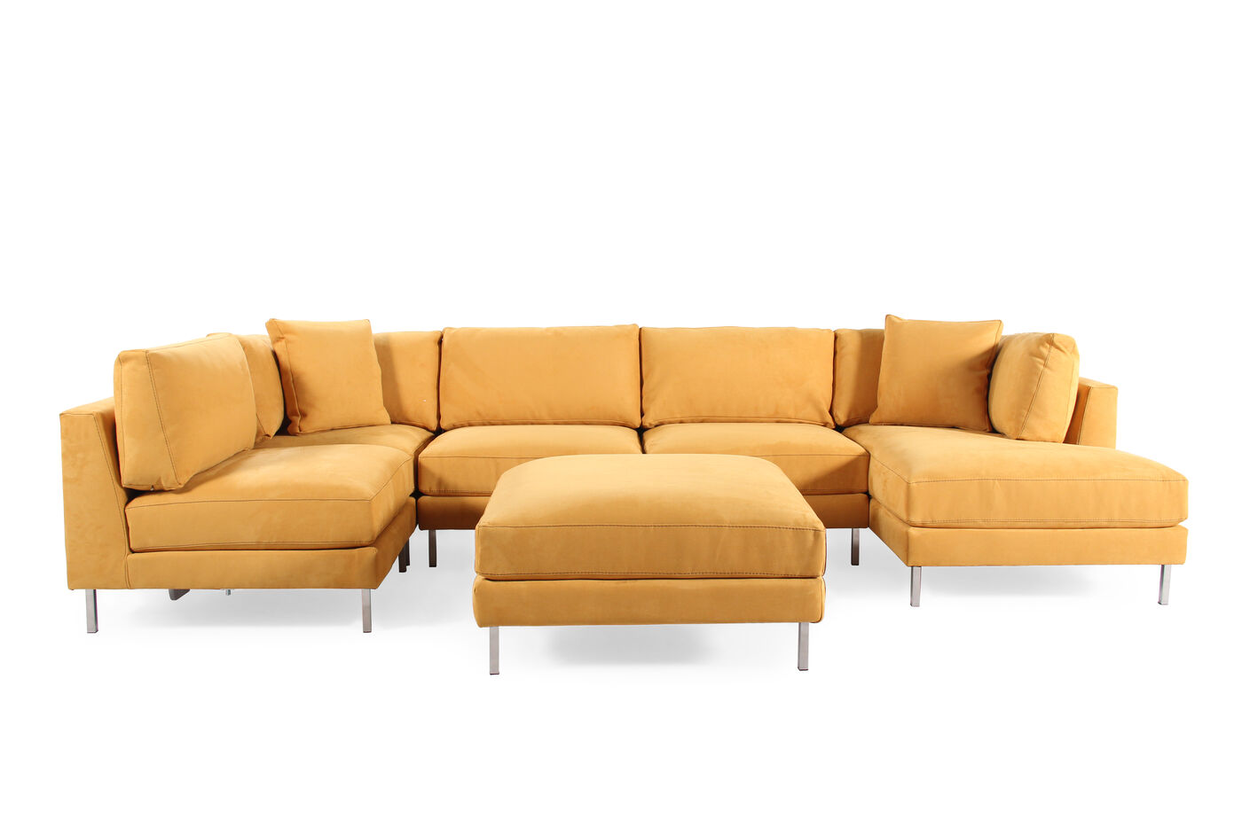 Jonathan Louis Remy Six Piece Sectional Mathis Brothers