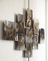 Ashley Oeneus Silver/Brown/Gold Finish Wall Decor