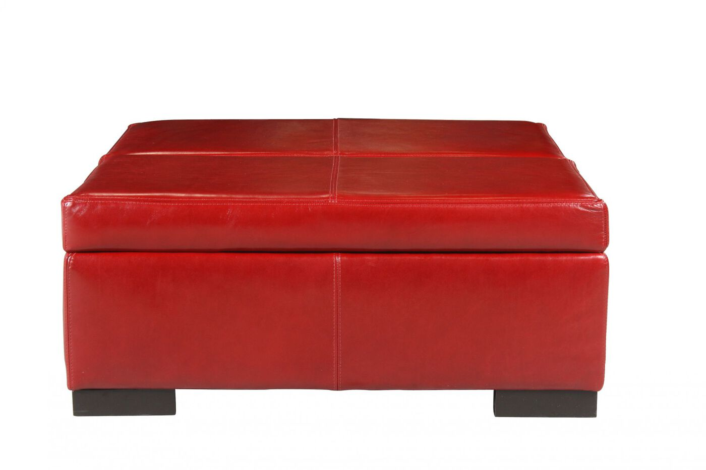 Jonathan Louis Donavan Leather Storage Ottoman - Jonathan Louis Donavan Leather Storage Ottoman Mathis Brothers