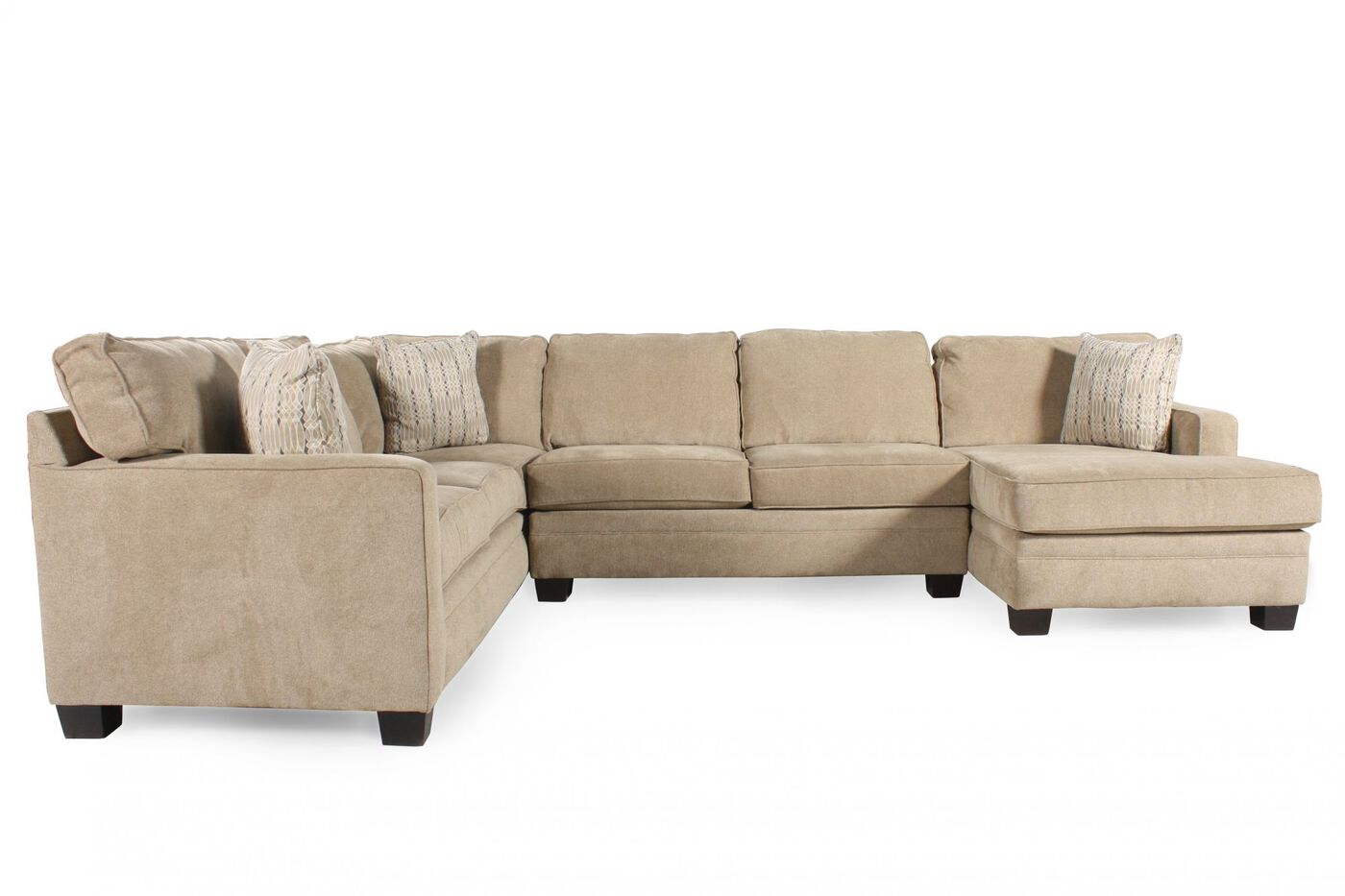 Broyhill Choices Sectional Mathis Brothers Furniture