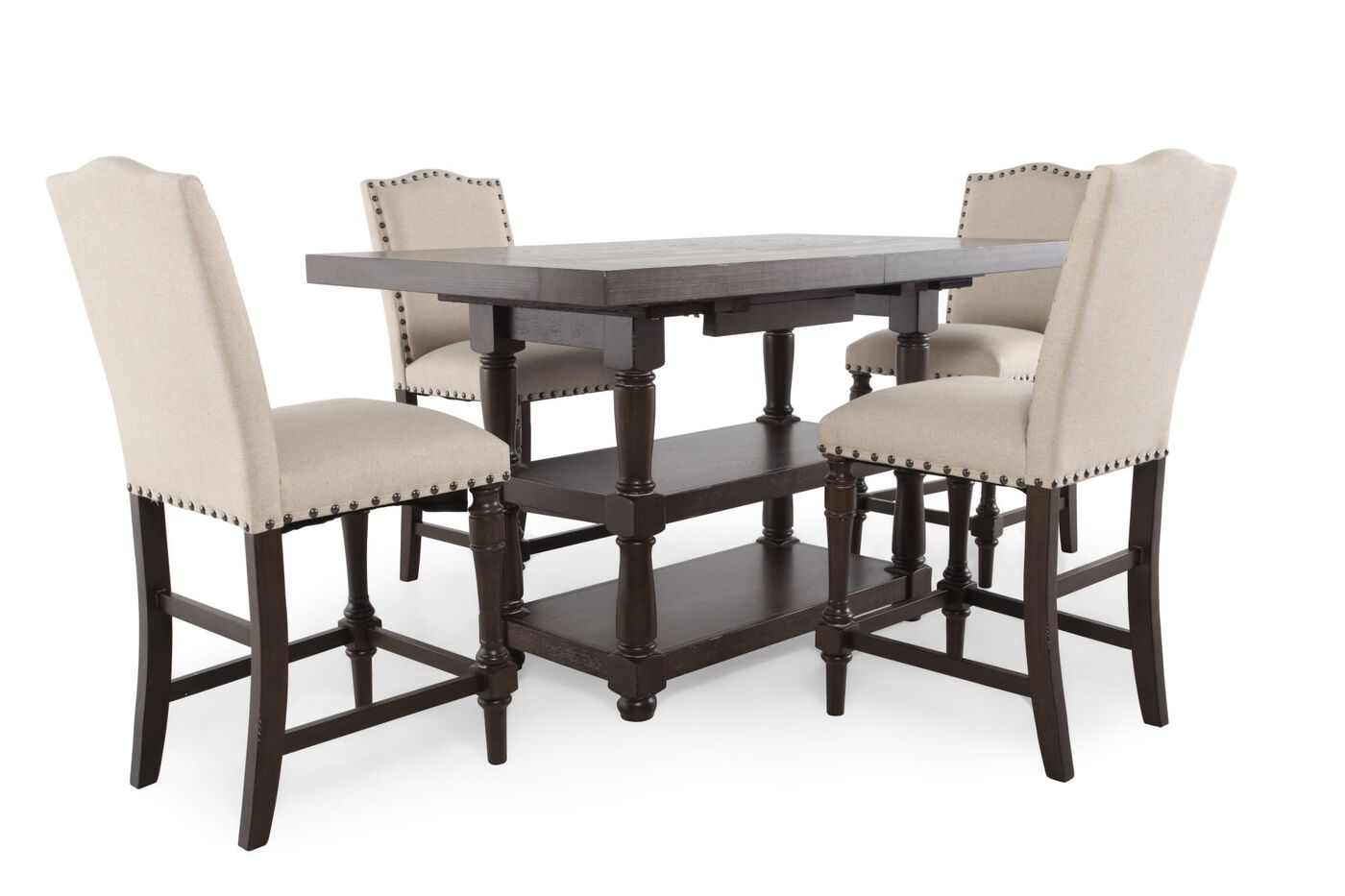 Winners Only Xcalibur Tall Five Piece Dining Set