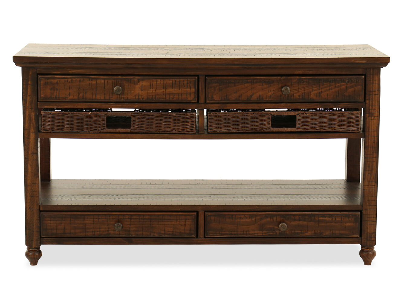 Magnussen Home Cottage Lane Sofa Table Mathis Brothers Furniture