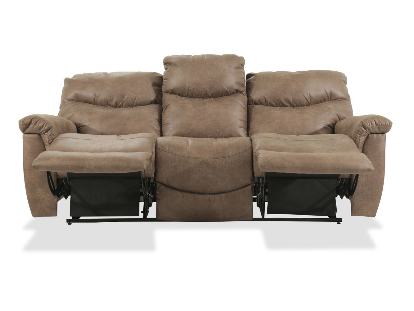 La Z Boy James Power Reclining Sofa Mathis Brothers Furniture