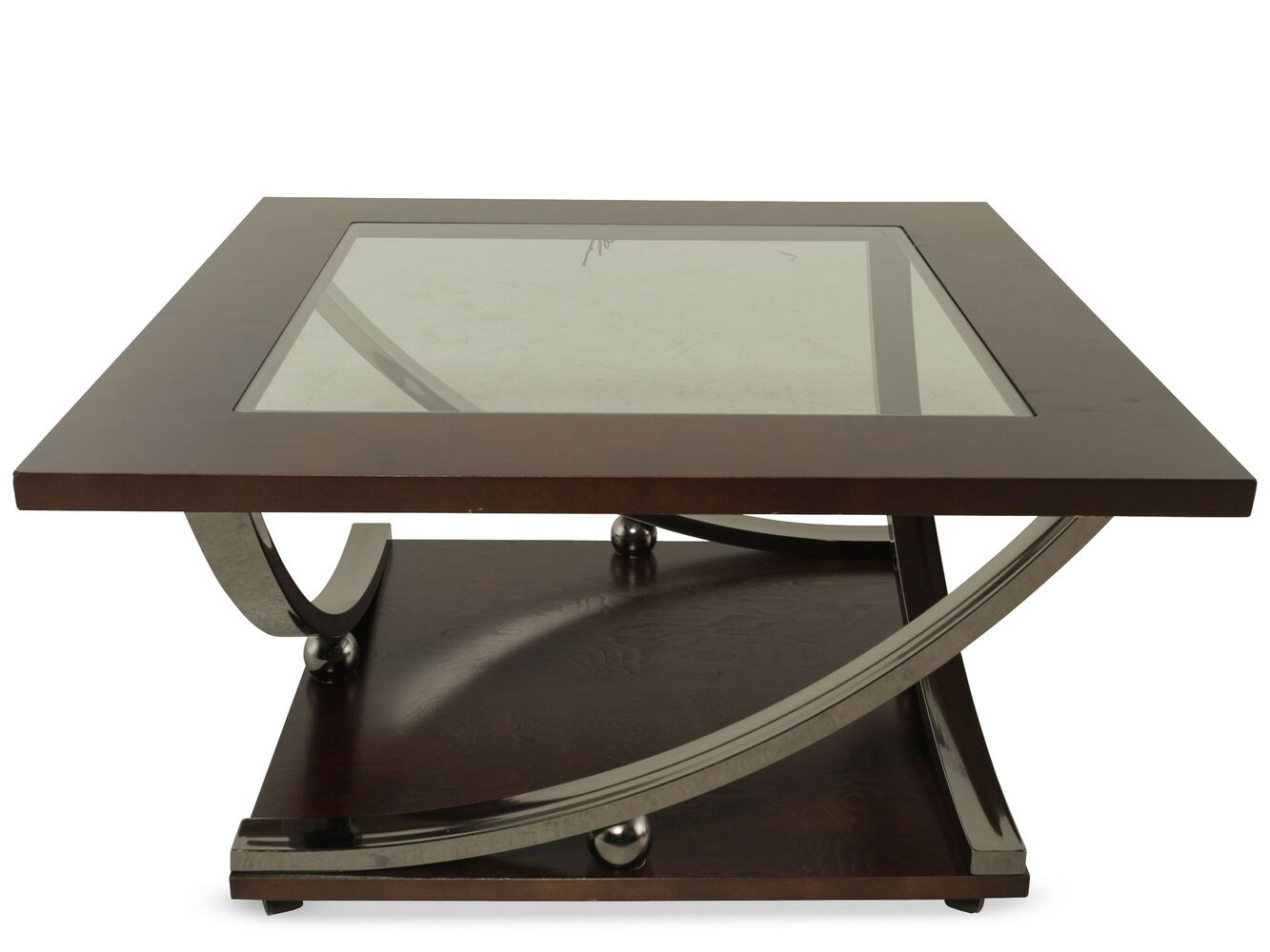 ashley rollins square cocktail table | mathis brothers furniture