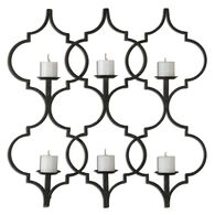 Uttermost Zakaria Metal Candle Wall Sconce