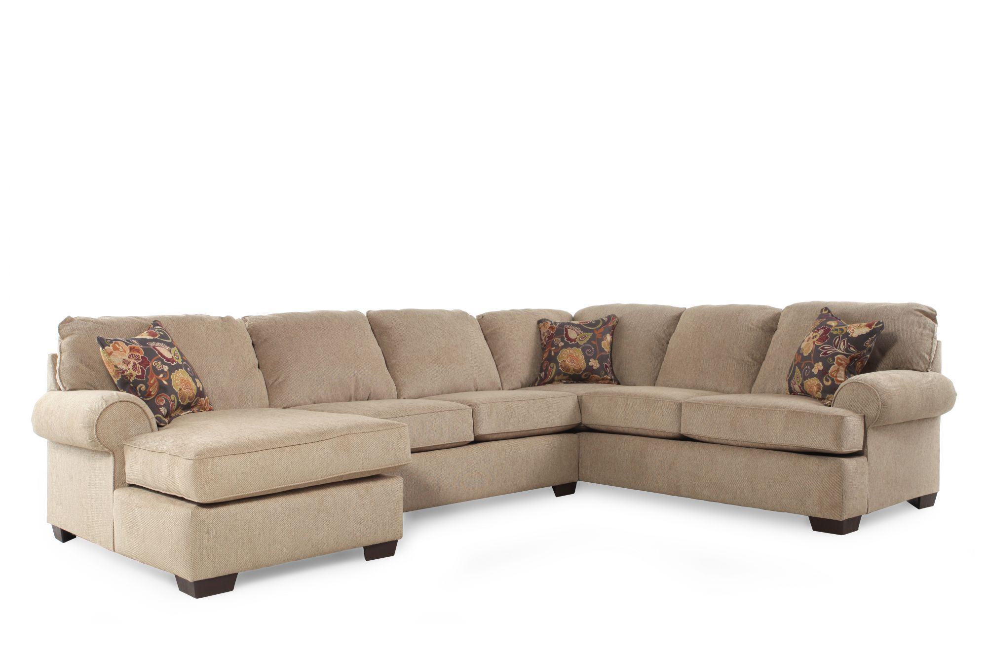 Lane Vivian Barely SectionalMathis Brothers Furniture