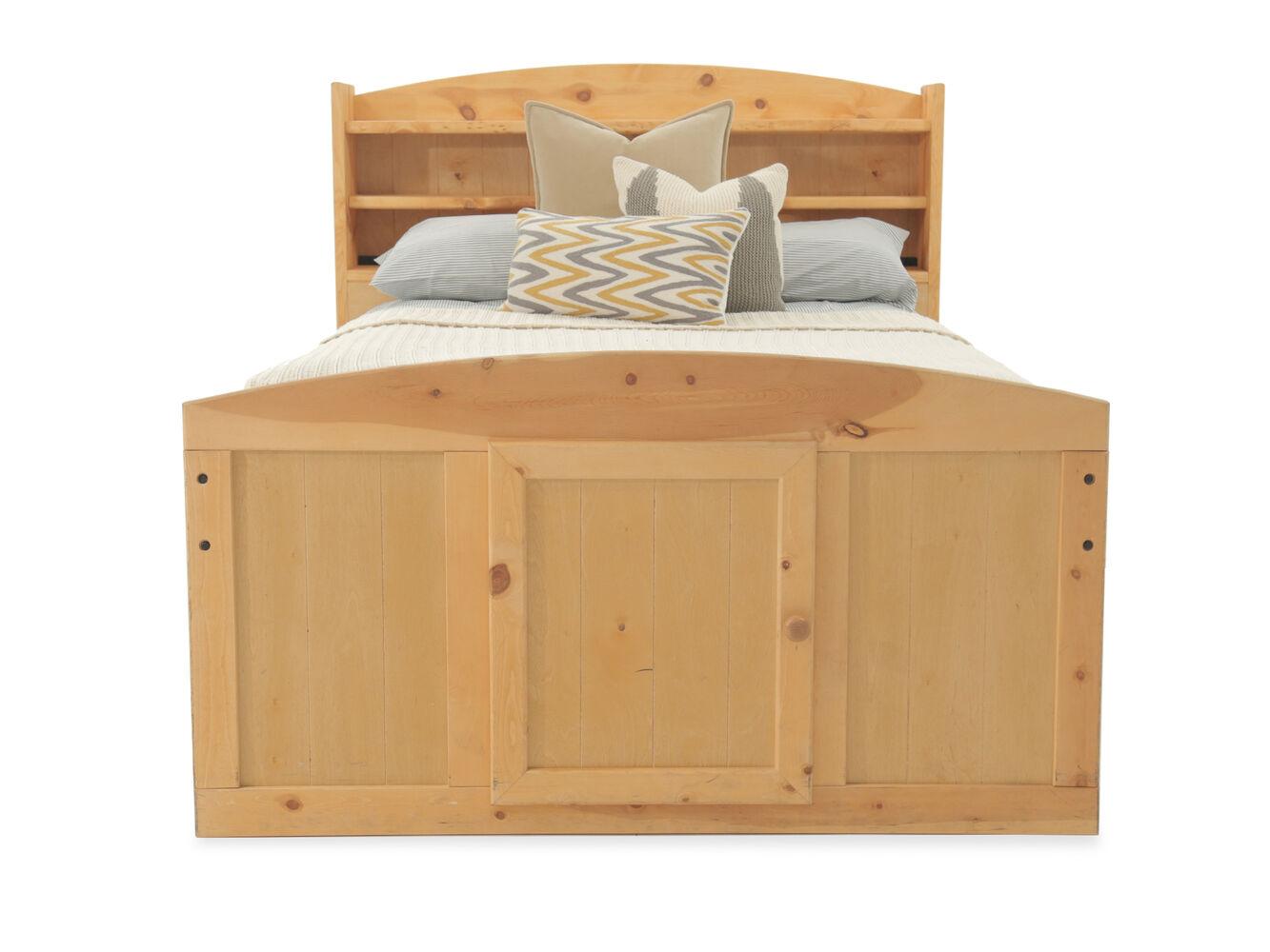 Captain bed full - Trendwood Palomino Cinnamon Captains Bed