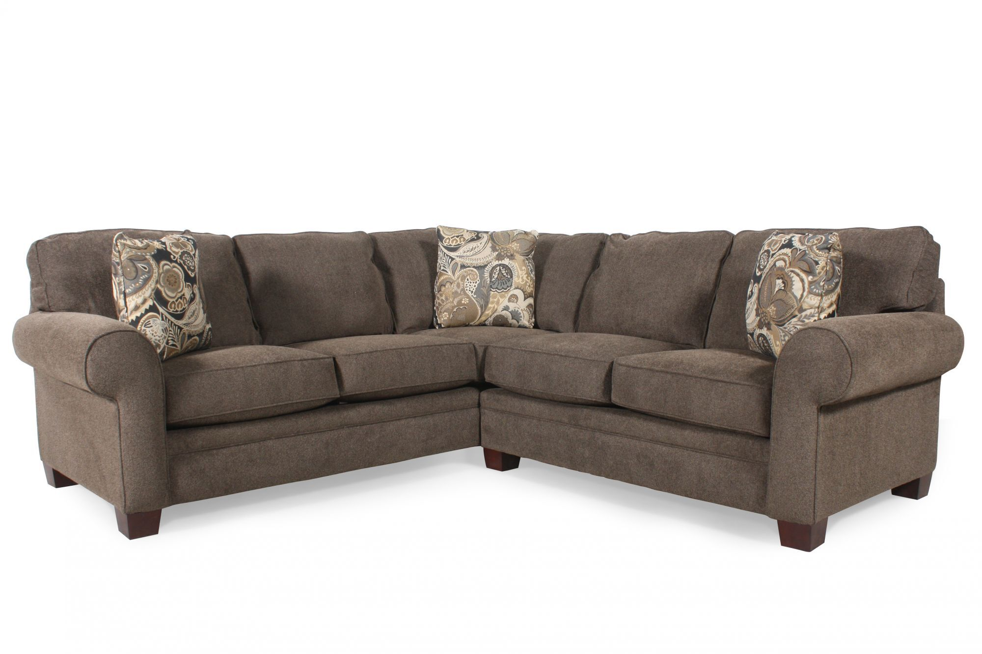 Broyhill Choices TwoPiece SectionalMathis Brothers Furniture