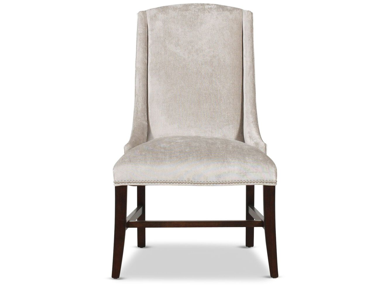 Bernhardt interiors slope upholstered arm chair mathis for Arm of chair