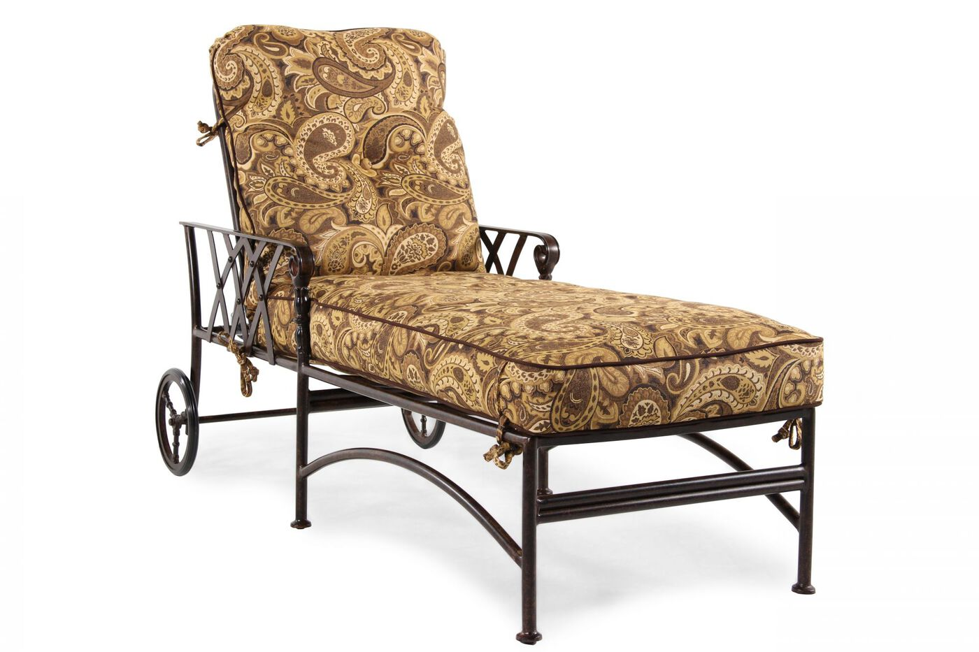 Mathis brothers patio furniture agio patio table agio for Agio heritage chaise lounge