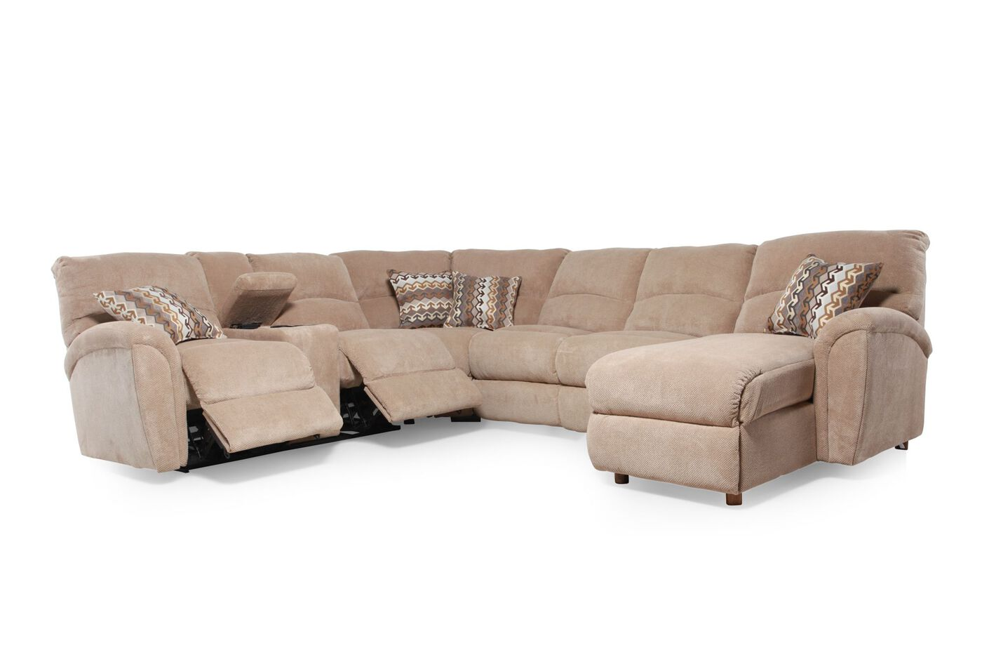Lane Grand Torino Sectional | Mathis Brothers Furniture