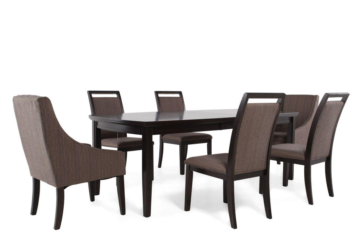 ashley lanquist seven piece dining set: seven piece dining set