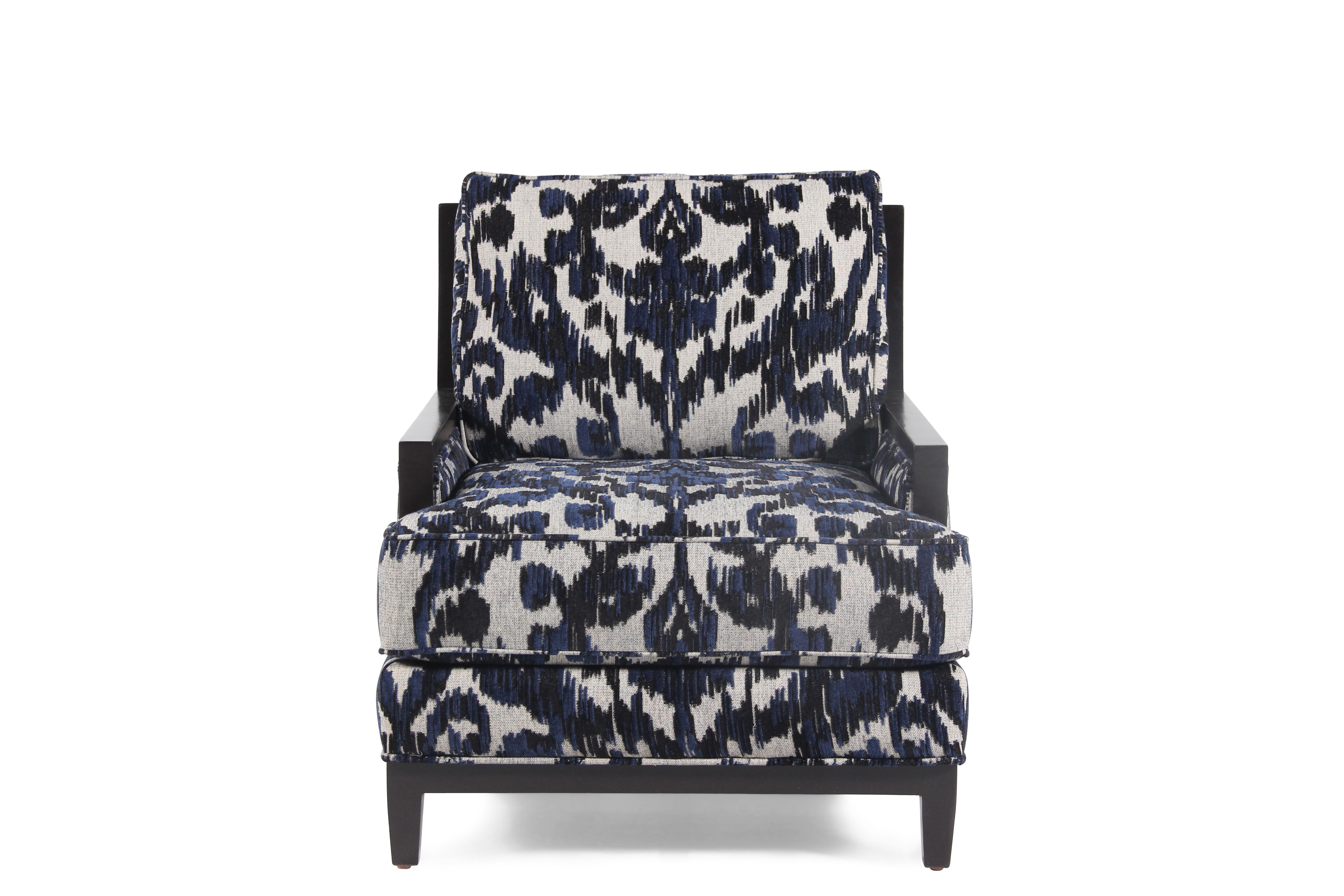 Jonathan Louis Clarice Wood Accent Chair ...