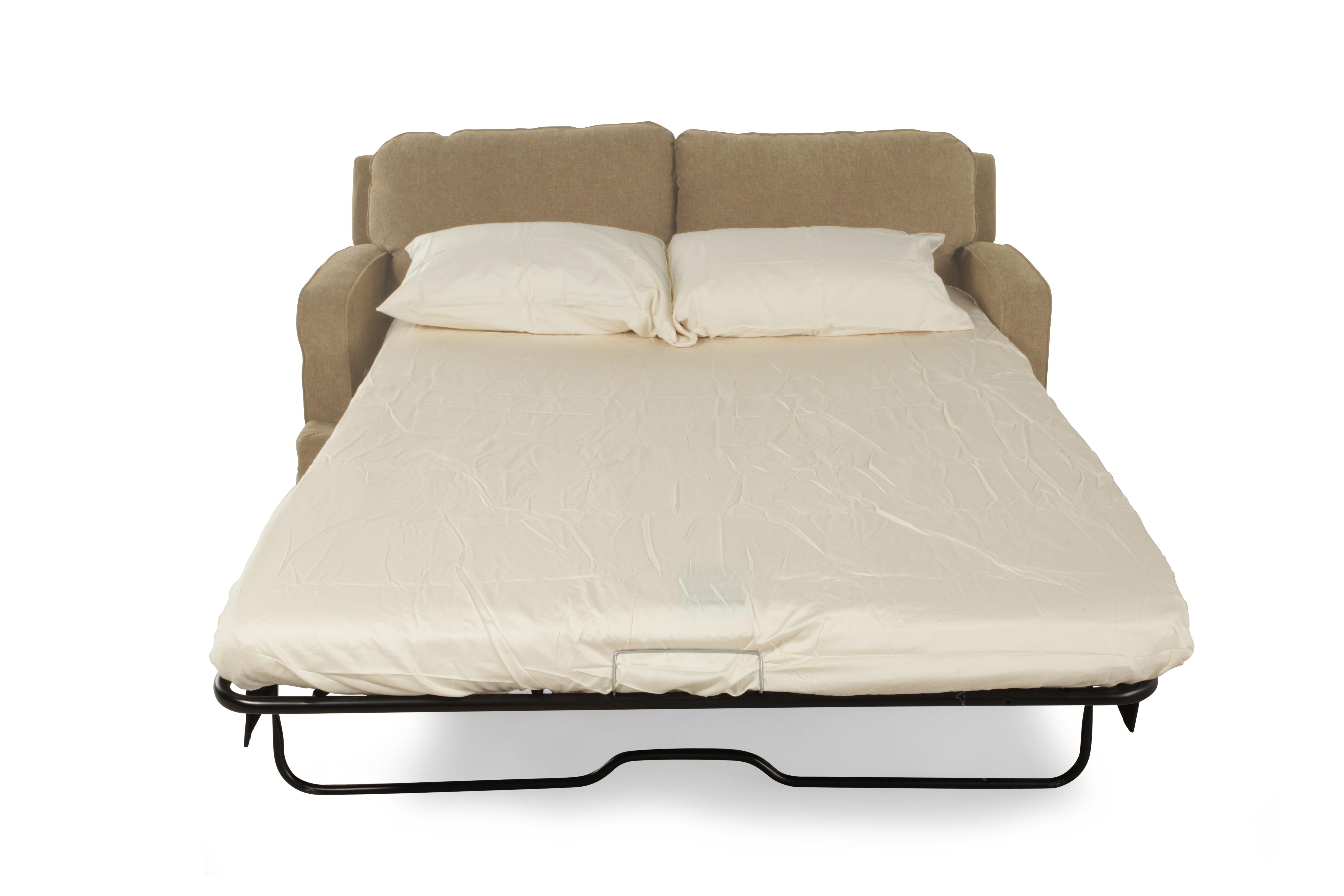 LaZBoy Diana Sesame Full Sleeper Sofa Mathis Brothers Furniture